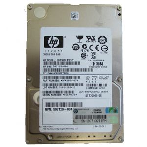 "HP EG0300FAWHV 507119-004  300GB 10K SAS 2.5"" No Caddy"
