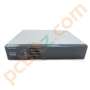 CISCO 860 Series 860VAE CISCO867VAE-K9 V01 Security Router VPN (No AC Adapter)