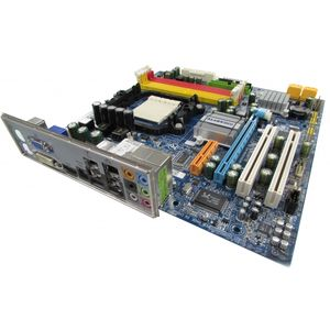 Gigabyte GA-MA69GM-S2H Rev 1.0 Socket AM2 AM2+ Motherboard With BP