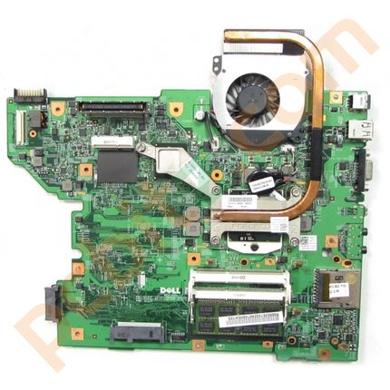 Dell Latitude E5510 Motherboard with i3-370M, Heastsink and Fan