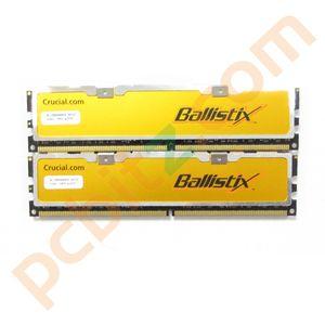 Crucial Ballistix BL12864AA804 2GB (2 x 1GB) PC2-6400 800MHz DDR2 Gaming Memory
