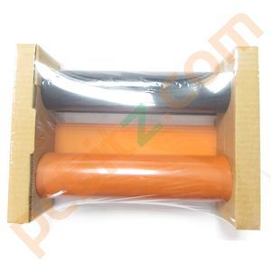 NEW Genuine Brady Black and Orange Ribbon 223.5mm x 60.9m 13528