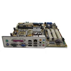 Asus P5RD2-TVM/S REV R1.01G LGA775 Motherboard With BP