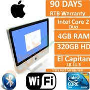 """Apple iMac A1224 20"""" Early 2009 C2D 2.66GHz, 4GB, 320HDD, El Capitan 10.11.6 (C)"""