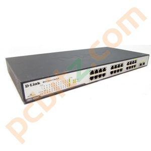 D-Link DGS-1224T 24 Port Gigabit Switch (Noisy Fan)