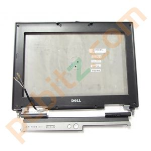 Dell Latitude D531 Back Cover with Bezel Button Bar + Wifi Cables