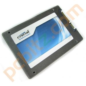 """Crucial M4 CT064M4SSD1 64GB SATA 2.5"""" Solid State Drive (SSD)"""