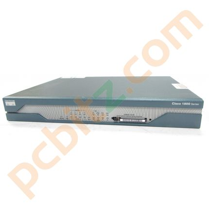 Cisco 1801 V02 1800 Series Integrated Services Router ISDN ADSL