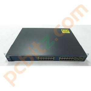Cisco Catalyst WS-C3560G-24TS-S V03 24 Port Gigabit Switch
