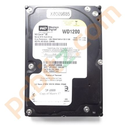 "Job Lot 5 x Western Digital WD1200JS 120GB SATA 3.5"" Desktop Hard Drive"