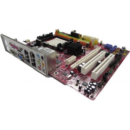 MSI K9NGM4 MS-7506 Ver 1.0 Socket AM2 Motherboard With BP