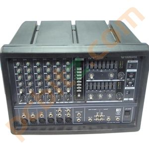 Yamaha emx 66m 300w 6 channel powered mixer amplifier misc for Yamaha power amp mixer