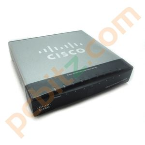 Cisco Small Business SLM2008 8 Port Gigibit Switch With PD (AC Adapter Included)
