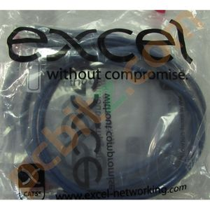 10 x Excel Blue CAT5e RJ45 Ethernet Patch Snagless Cables 1.5M NEW