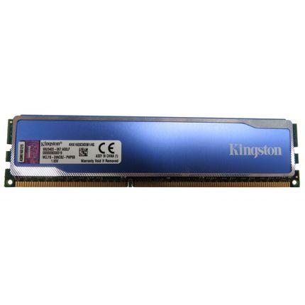 4GB (1 x 4G) Kingston KHX1600C9D3B1/4G HyperX Blu PC3-12800 DDR3 RAM