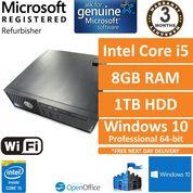 Dell Precision T1700, Core i5-4590 3.3GHz, 8GB, 1TB, Windows 10 Pro SFF PC