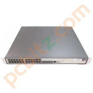 3COM 3CR17254-91 Switch 5500G-EI 24 Port Switch with 3C17260 Module (Noisy Fan)