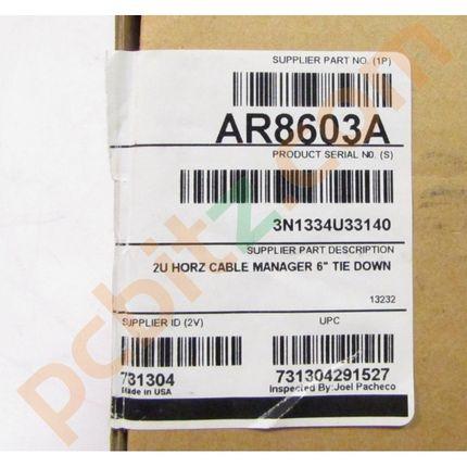 "APC AR8603A 2U Horizontal Cable Manager 6"" Tie Down"