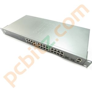 LevelOne GSW-2693 24-Port 10/100Mbps 24-Port + 2G Combo L2 SNMP Switch