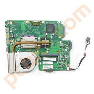 Toshiba Satellite Pro C650 Motherboard, T4500, Heatsink, Fan V000225020