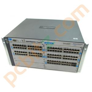 HP Procurve Switch J8773A 4208VL + 4 x J8765A + 1 x J9033A