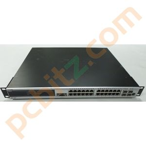 D-Link DGS-3427 24 Port Gigabit Switch + 4 SFP Combo ports + 2 x DEM-410CX 10GE