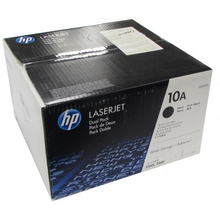 Genuine HP Dual Pack Toner Cartridge 10D Q2610D for HP LaserJet 2300 2300L