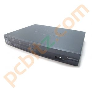 Cisco 881 Cisco881-SEC-K9 V02 Ethernet Security Router No AC Adapter
