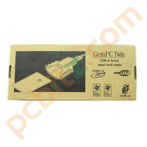 GemPC Twin USB Smart Card Reader (New)