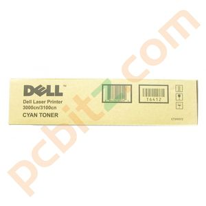 Genuine Dell CT200572 3000cn/3100cn Cyan Toner Cartridge - T6412