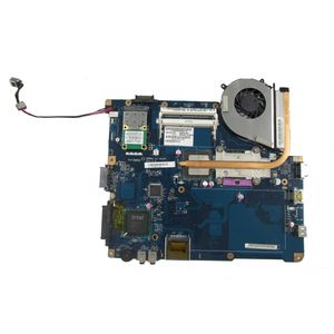 Toshiba Satellite Pro L450 Motherboard K000093580, T4400, Heatsink and Fan