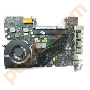 Apple MacBook Unibody 2009 A1342 Logic Board, P7550 2.26GHz 820-2883-A (Faulty)