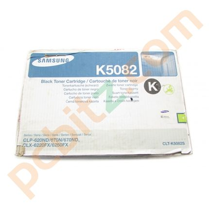 Genuine Samsung CLT-K5082S Black Toner Cartridge