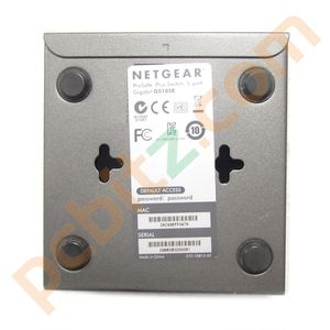 Netgear GS105E ProSafe Plus 5 Port Gigabit Switch with Power Adapter