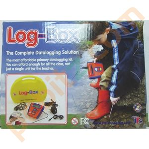 Log-Box School Data Logging System Light, Sound and Temperature USB