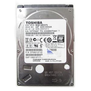 "Toshiba MQ01ABD075 750GB SATA 2.5"" Laptop Hard Drive"