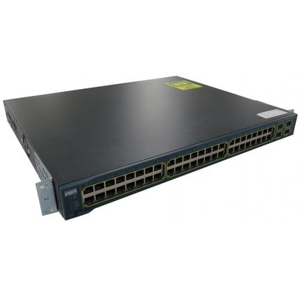 Cisco WS-C3560-48PS-S V04 48 Port POE 10/100 Switch