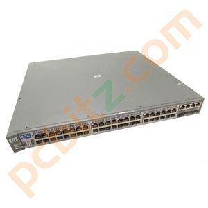 HP Procurve 2848 J4904A 48 Port Gigabit Switch 1000Base-T  (No Ears)