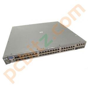 HP Procurve 2848 J4904A 48 Port Gigabit Switch 1000Base-T  (No Ears)