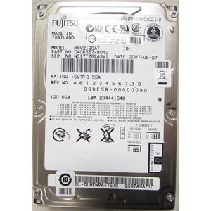 "Fujitsu MHV2120AT 120GB IDE Laptop 2.5"" Hard Drive"