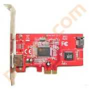 StarTech PEXESATA2L 1x eSATA + 1x SATA II PCI Express SATA Controller Card