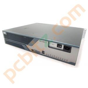 Cisco 3825 Integrated Services Router + 2 x NM-2CE1T1-PRI modules