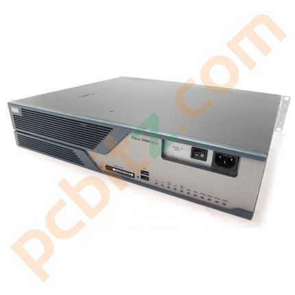 Cisco 3825 Integrated Services Router + 2 x NM-2CE1T1-PRI modules