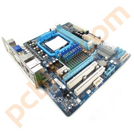 Gigabyte GA-MA78LM-S2H Rev 1.0 AM3/AM2+ Motherboard With BP