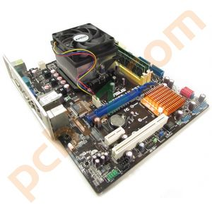 Asus M2N68-AM SE2 Motherboard, AMD Athlon DC 7750 2.7GHz, 2GB RAM Without BP