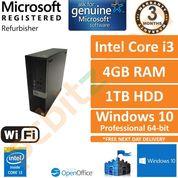Dell Optiplex 3040 i3-6100 @ 3.70GHz, 4GB Ram,1TB Windows 10 Pro Small PC