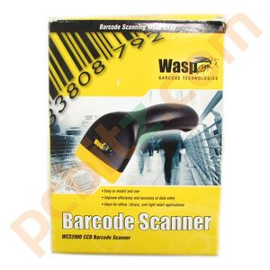 WASP WCS3900 CCD Barcode Scanner PS2