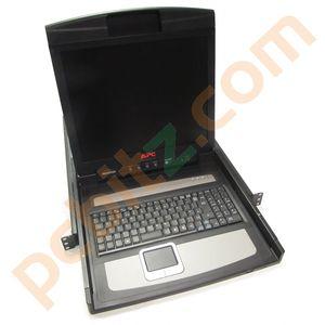 "APC AP5717 17"" LCD KVM Rackmount Console"