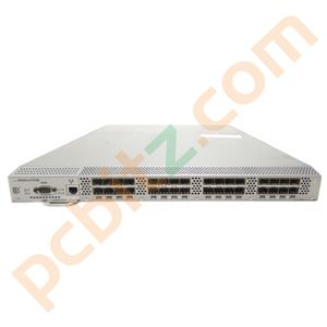 Brocade SilkWorm 4100 Fibre Channel 32 Port SAN Switch (2 x PSU) POST only