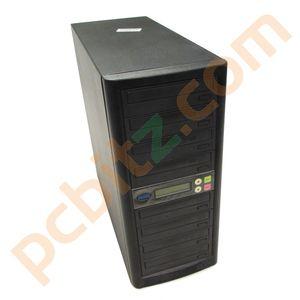 ACARD 1 to 7 CD/DVD Duplicator Tower (IDE) - Black